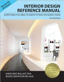 Interior Design Reference Manual Everything You Need To Know Pass The David Kent Ballast No Preview Available