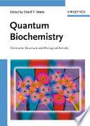Quantum Biochemistry Book