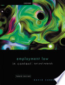 Employment Law In Context