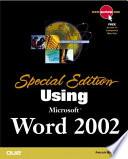 Using Microsoft Word 2002