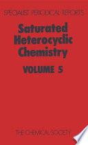 Saturated Heterocyclic Chemistry Book PDF