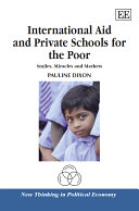 International Aid and Private Schools for the Poor