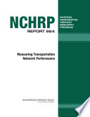 Measuring Transportation Network Performance Book PDF