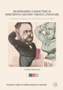 Pdf Reappearing Characters in Nineteenth-Century French Literature Telecharger