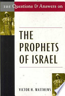 101 Questions and Answers on the Prophets of Israel
