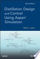 Distillation Design and Control Using Aspen Simulation