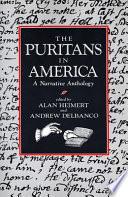 The Puritans in America Book