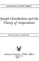 Joseph Chamberlain and the Theory of Imperialism
