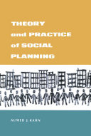 Theory and Practice of Social Planning Pdf/ePub eBook