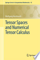 Tensor Spaces and Numerical Tensor Calculus Book