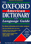 The Oxford American Dictionary and Language Guide - Google Books