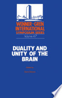 Duality And Unity Of The Brain Book PDF