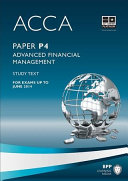 ACCA P4   Advanced Financial Management   Study Text 2013