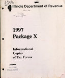 Package X  Informational Copies of Tax Forms