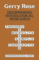 Deciphering Sociological Research