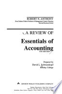 A Review of Essentials of Accounting, 5th Edition