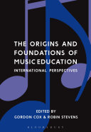 The Origins and Foundations of Music Education ebook