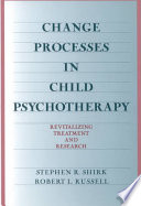 Change Processes in Child Psychotherapy Book