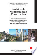 Sustainable Mediterranean Construction Sustainable Environment In The Mediterranean Region From Housing To Urban And Land Scale Construction Book PDF