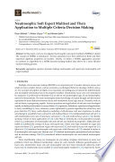 Neutrosophic Soft Expert Multiset and Their Application to Multiple Criteria Decision Making
