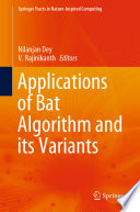 Applications of Bat Algorithm and its Variants