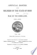 Official Roster of the Soldiers of the State of Ohio in the War of the Rebellion, 1861-1866