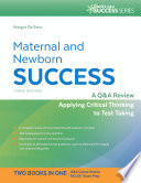 Maternal and Newborn Success Book