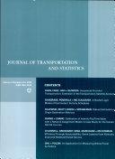 Journal of Transportation and Statistics