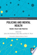 Policing and Mental Health Book