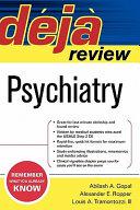 Deja Review Psychiatry