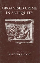 Organised Crime in Antiquity