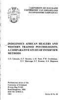 Indigenous African Healers and Western Trained Psychologists