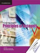 Books - Cambridge O Level Principles Of Accounts Coursebook | ISBN 9781107604780