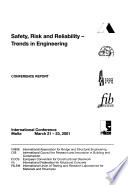 Safety, Risk and Reliability