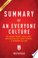 An Everyone Culture Book PDF