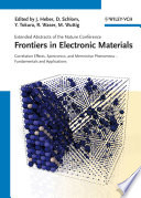 Frontiers in Electronic Materials
