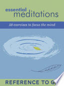Essential Meditations Reference To Go
