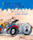 Five Nice Mice and the Great Car Race Chisato Tashiro, Kate Westerlund Cover
