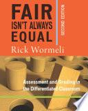Fair Isn t Always Equal