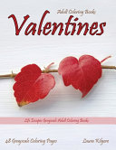 Adult Coloring Books Valentines