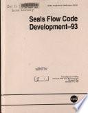 Seals Flow Code Development 1993 Book