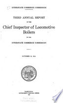 Annual Report of the Director of Locomotive Inspection Book PDF
