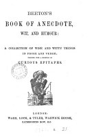 Beeton's book of anecdote, wit, and humour