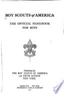 Handbook for Boys by Boy Scouts of America PDF