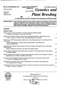 The Indian Journal of Genetics   Plant Breeding