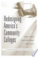 link to Redesigning America's community colleges : a clearer path to student success in the TCC library catalog