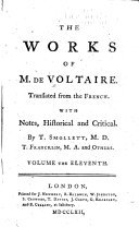 The Works of M  de Voltaire  History of Charles XII