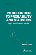 Introduction to Probability and Statistics Book