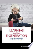 Learning And The E Generation Book PDF