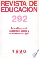 Revista de Educacion 1990